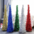 60cm Retractable foldable sequins artificial christmas tree new year decorative christmas ornaments tree