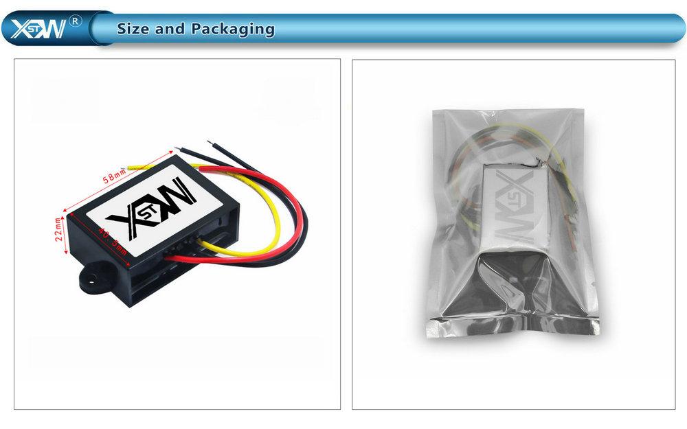 inverter power inverter 12v 24v 36v 48v 60v 20-75v to 5v dc dc buck converter 1A 2A 3A 5A