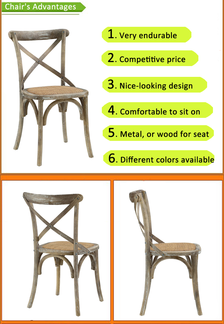 factory price stacking metal dining restaurant hotel wedding furniture dining metal X cross back chair