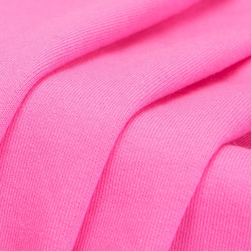 Read to ship solid 240gsm cotton lycra French Terry in stock with high stretchy