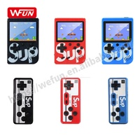 New Wholesale Retro 8 Bit Video Game Console Sup400 Handheld Double Player Sup Game 400 in 1