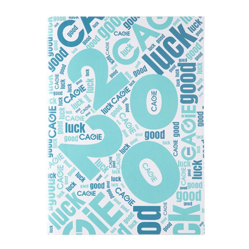 A4 2020 наклейки для дневника Escolar notebook 12 мес., китайский планировщик, еженедельные офисные школьные принадлежности D50(Китай)