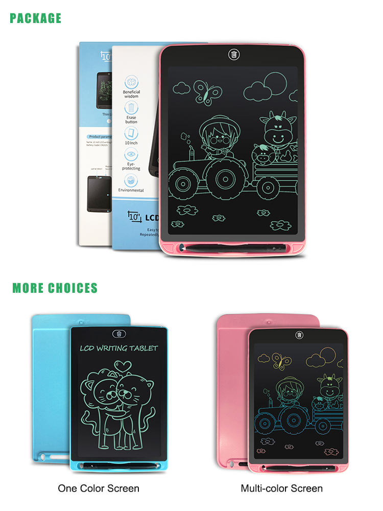 Newyes 2020 Hot Sales 10 Inch Doodle Writing Tablet For School Business Office
