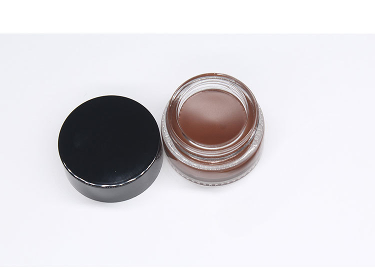Put Brow Color Dark Brown Brow Pomade Vegan Cruelty-Free Eyebrow Color that Fills and Shapes Brows eyebrow pomade private label
