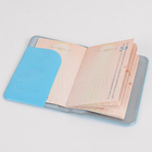 Fashionable Travel document Passport Cover Customized PVC Passport Holder multi colorful card wallet
