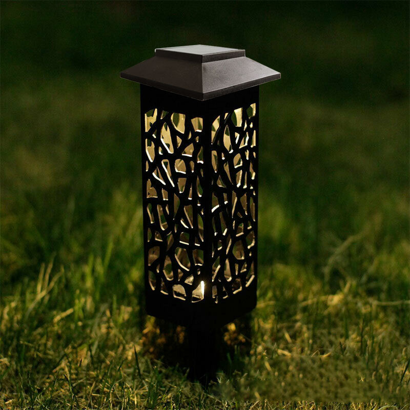 China Manufacturer OEM IP65 Waterproof Power Fence Security Outdoor LED Solar Garden Light with Motion Sensor