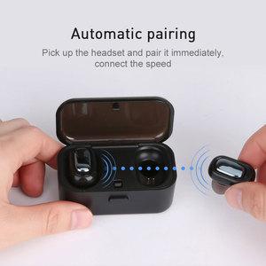 L1 Bluetooth Headset  3D Stereo Sound Waterproof Earbuds Built-in Mic Wireless Earphones TWS