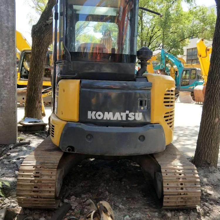 Used original KOMATSU PC55 excavator in good working condition