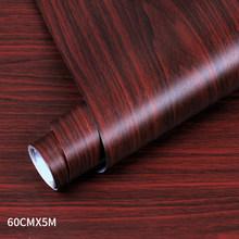 Обои из ПВХ с деревянным покрытием для кухонной пленки, восстановленная одежда, шкаф, дверь, мебель для дома, офиса, Декор, Настенная Наклейк...(Китай)
