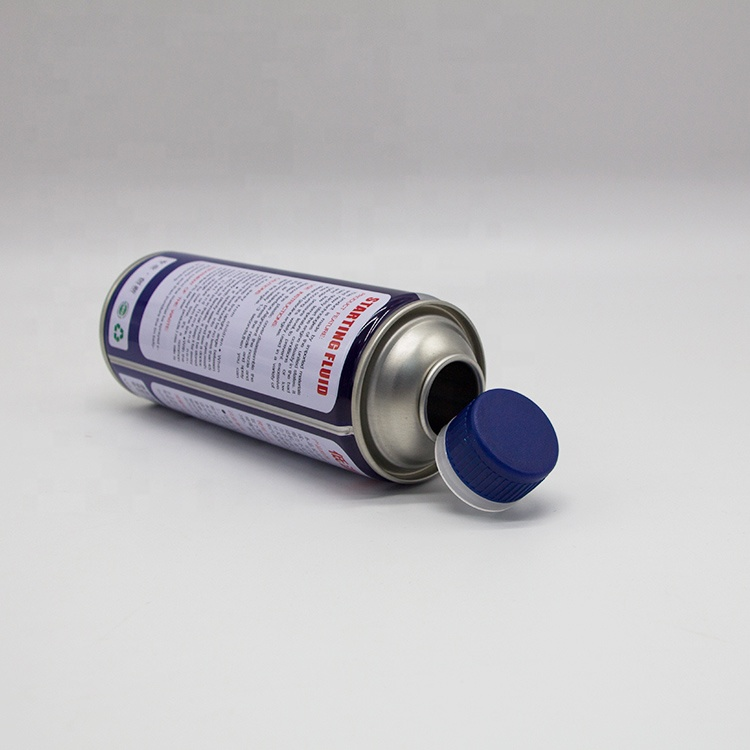 Tinplate empty aerosol cleaner cans
