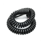High quality Trailer truck tractor 7 core spiral coiled wire cable 6 core telephone spiral wire