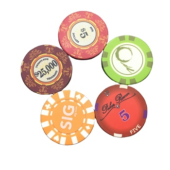 promotion high quality sublimation poker chips colorful ceramic poker chips casino