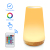 Home Decoration Dimmable ABS Sensor Touch Remote Control 7 Color USB  LED Night Light