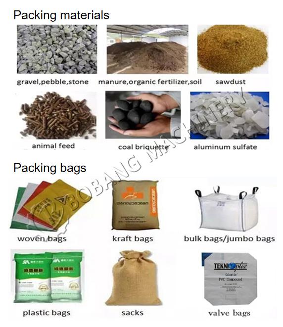 40kg sacchetto fly ash macchina imballatrice 30kg rosso tubu sacco di maglia