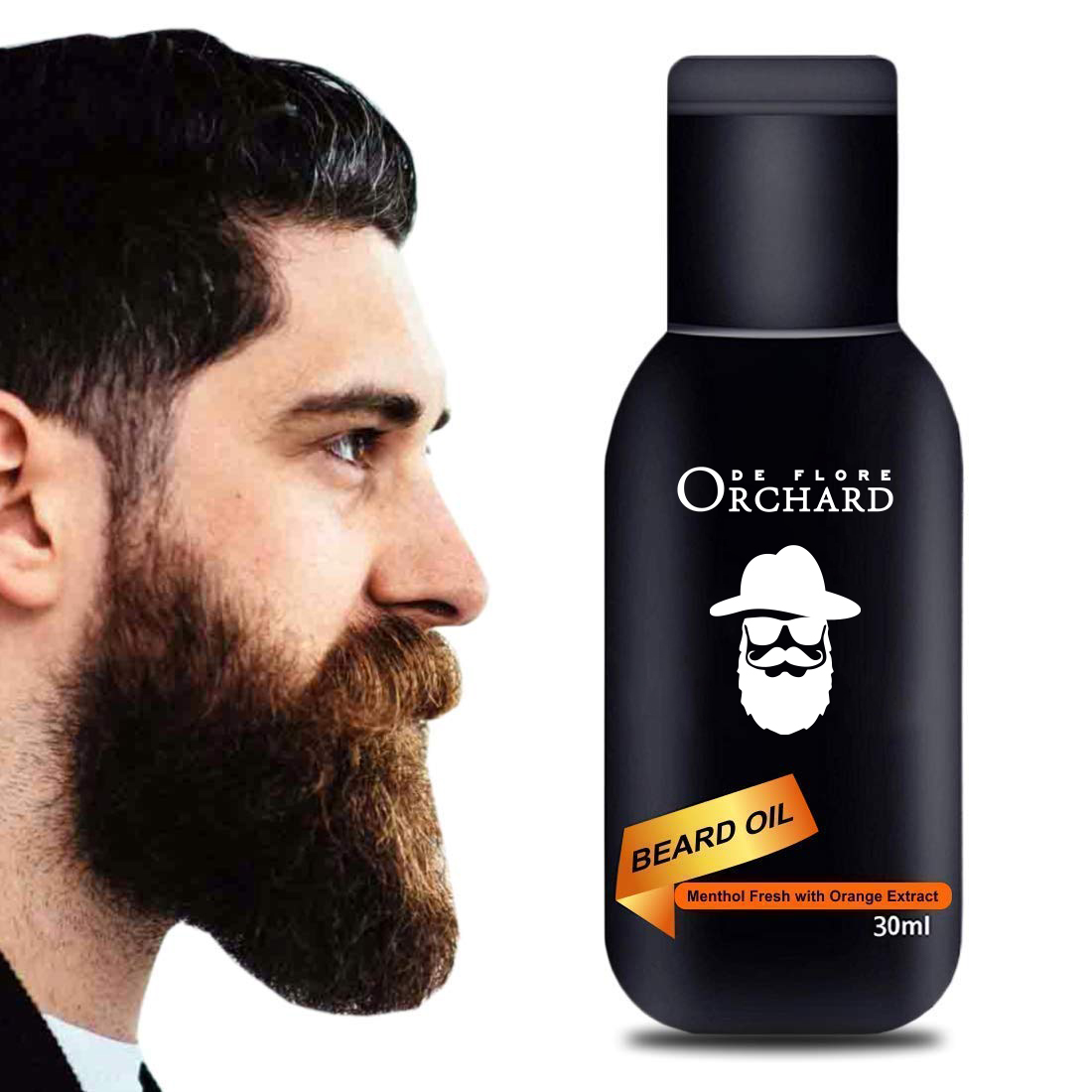Private Label  Beard Treatment Smoothing Nourishing 100% Pure Beard Oil