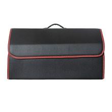 Сумка для хранения в автомобиле, складная сумка из искусственной кожи для хранения в багажнике(Китай)