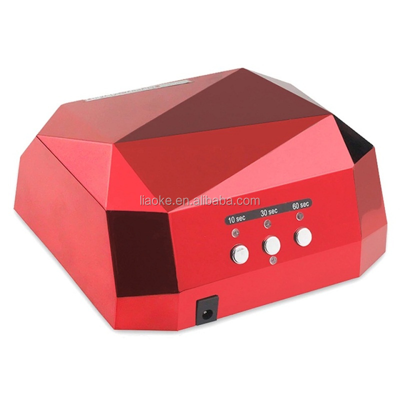 Professional gel curing 36W LED nail UV lamp for nail gel polish