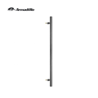 304 Stainless Steel Modern Industrial Pull Handles For Entrance Door