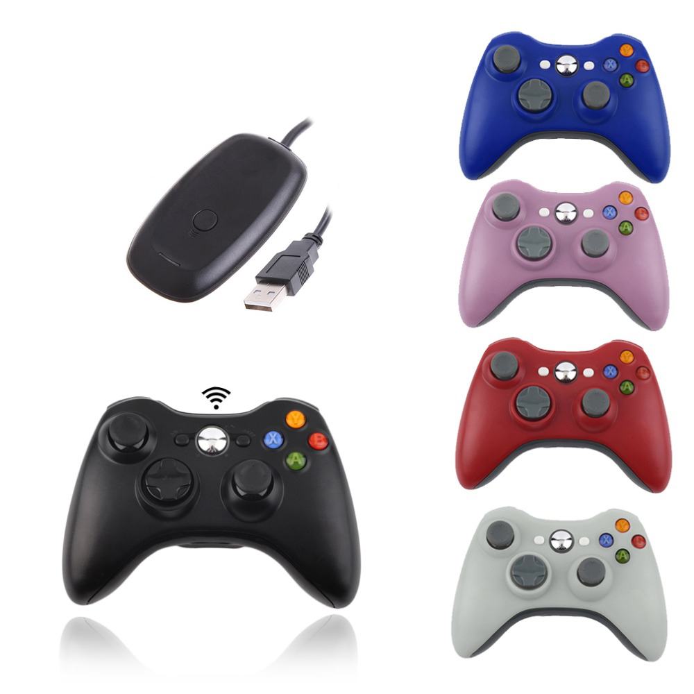 NEW 2.4G Gamepad with Vibration Joystick Gamepad for <strong>XBOX</strong> <strong>360</strong> Wireless <strong>Controller</strong> for XBOX360 / PC / PS3