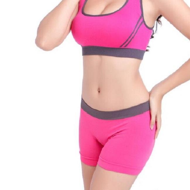 Womens Ladies Girls Yoga Sport Bra Seamless Comfort Stretch Crop Top Vest S-3XL