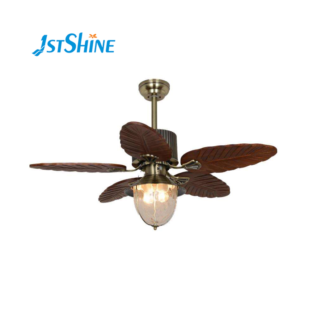 42 Inch Luxury Indoor Using Ac 220v 50hz Leave Solid Wood Ceiling Light Fan Remote Control Buy Ceiling Fans Light 42 Inch Solid Wood Ceiling Light Fan Remote Control Wooden Tropical Ceiling Fan Lamp