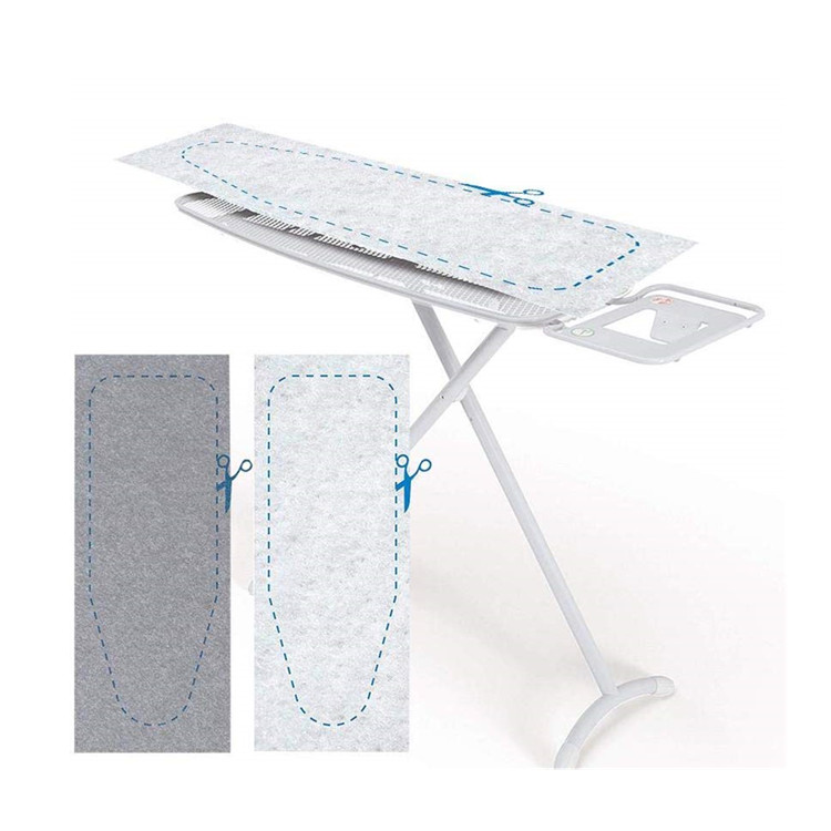 Portable wool Felt <strong>Ironing</strong> <strong>Board</strong> Travel Easy to Cut Thick Cuttable Iron Pad for Washer Dryer Table Top Countertop