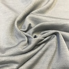 natural spun silk and cotton one side single jersey fabric