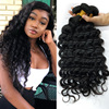 natural unprocessed raw indian temple hair human hair growth raw materials extention,loose deep wave hair