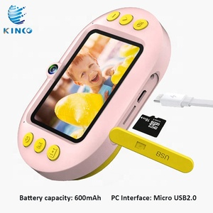 New Kids Camera Cute Cartoon rabbit Kids Toy Photo Video Waterproof Mini Digital Camera For Children