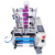 YTK190 semi-auto round bottle labeling machine for single or double labels
