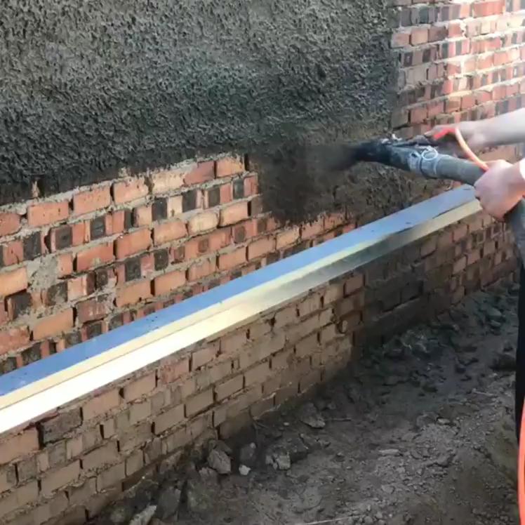 Friendly and environmentally putty powder cement grout sprayer mortar machine
