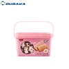 Recycle eco friendly Plastic Food Container for Cake And Biscuit IML PP box with cover