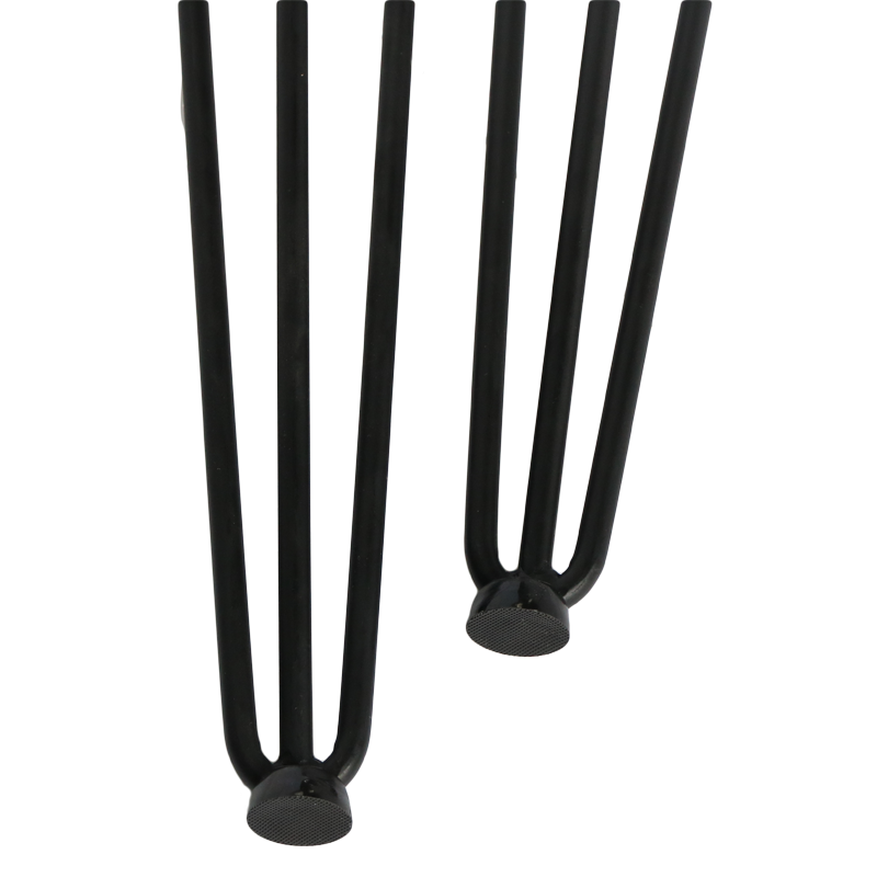 Best selling 3 legs modern cast iron table base hairpin table legs with 28 inches