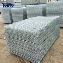 Stainless steel welded wire mesh panel  / 2X2 galvanized welded wire mesh panels prices Philippines / metal fence panels