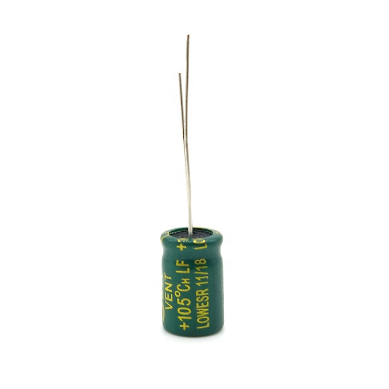 고주파 전해 콘덴서 10V 470 미크로포맷 8*12MM 20% 직접 삽입 알루미늄 전해 커패시터 500 개/가방