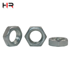 Steel Hex Nut Customized Galvanized Steel Color-plated Positive Standard Hex Nut