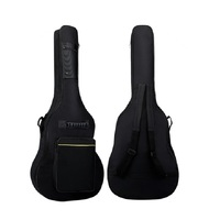 Water Resistant Thick 5mm Pad Soft Gig Cover Double Strap 600D Oxford Guitar Case