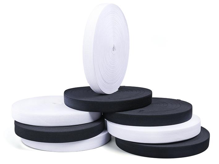 Newest sale hat bags accessories 2cm 2.5cm 3cm 5cm widely using good quality durable jacquard elastic