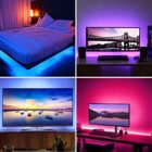 Powered Desktop Pc Backlight Tv USB 16.4ft/5M Waterproof IP20 16 Colors 24Key Wireless Remote Controller TV Backlights With USB Powered For TV Desktop PC