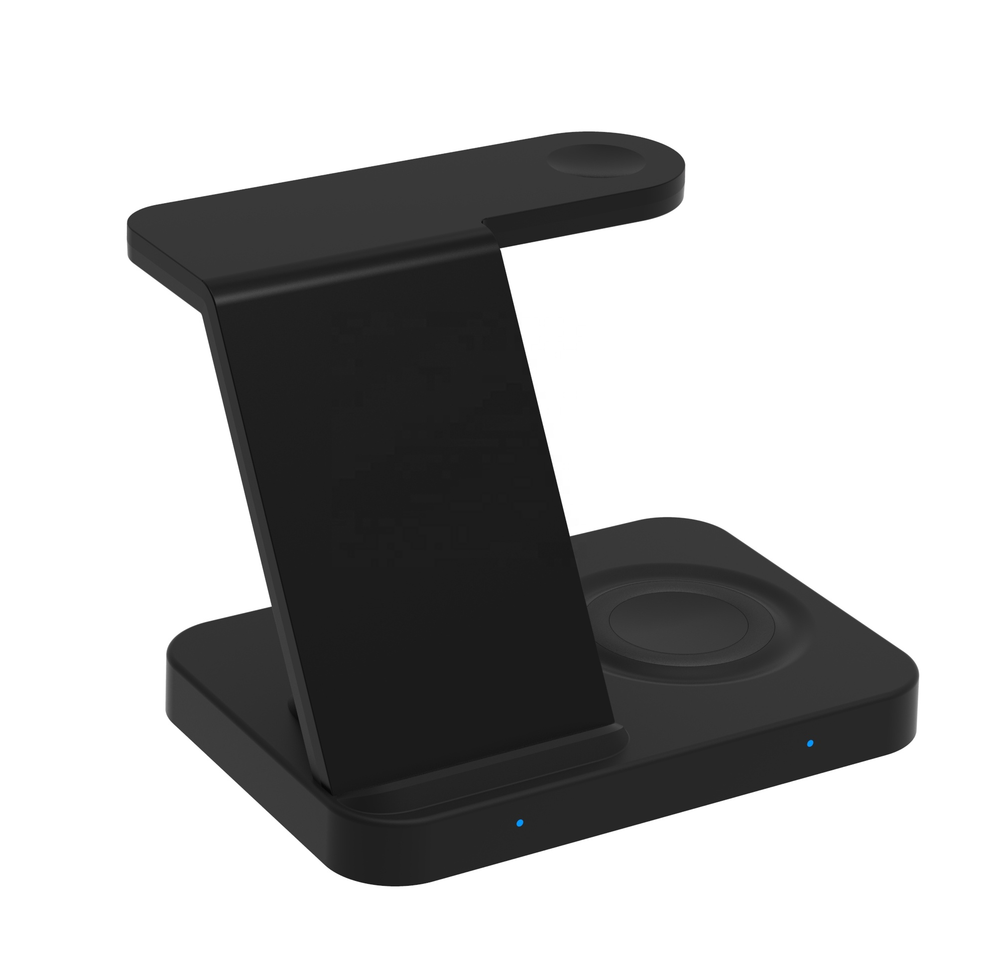 3 in 1 Fast Wireless Charger Station for Galaxy Phone and Galaxy Watch and Galaxy Buds and Airpods with Extra USB Charging Port