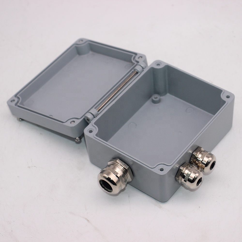 IP67 aluminum die cast gabinete/caixa de junção metal
