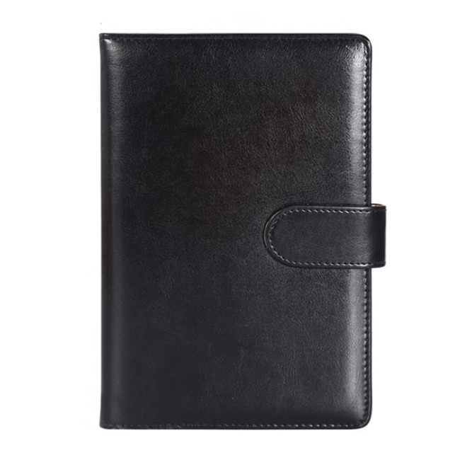 custom printing page soft cover leather diary notebook 2020