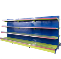 Store metal retail shelving systems customized display stand rack shelf supermarket