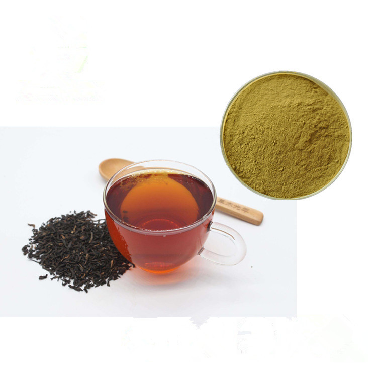 Free Sample Water Soluble Black Tea Extract Powder , Black Tea Powder - 4uTea | 4uTea.com