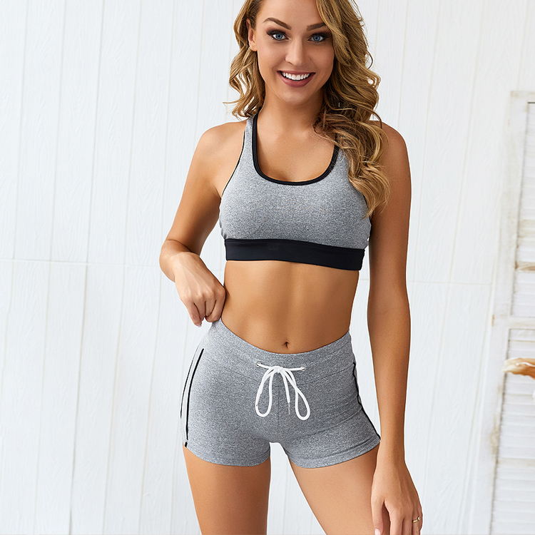 Top Quality Fitness Wear Women Active Wear Bodybuilding Custom Sexy Sports Yoga  Tops Female Activewear