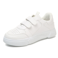 High quality leather small white women's shoes fashion casual sports shoes