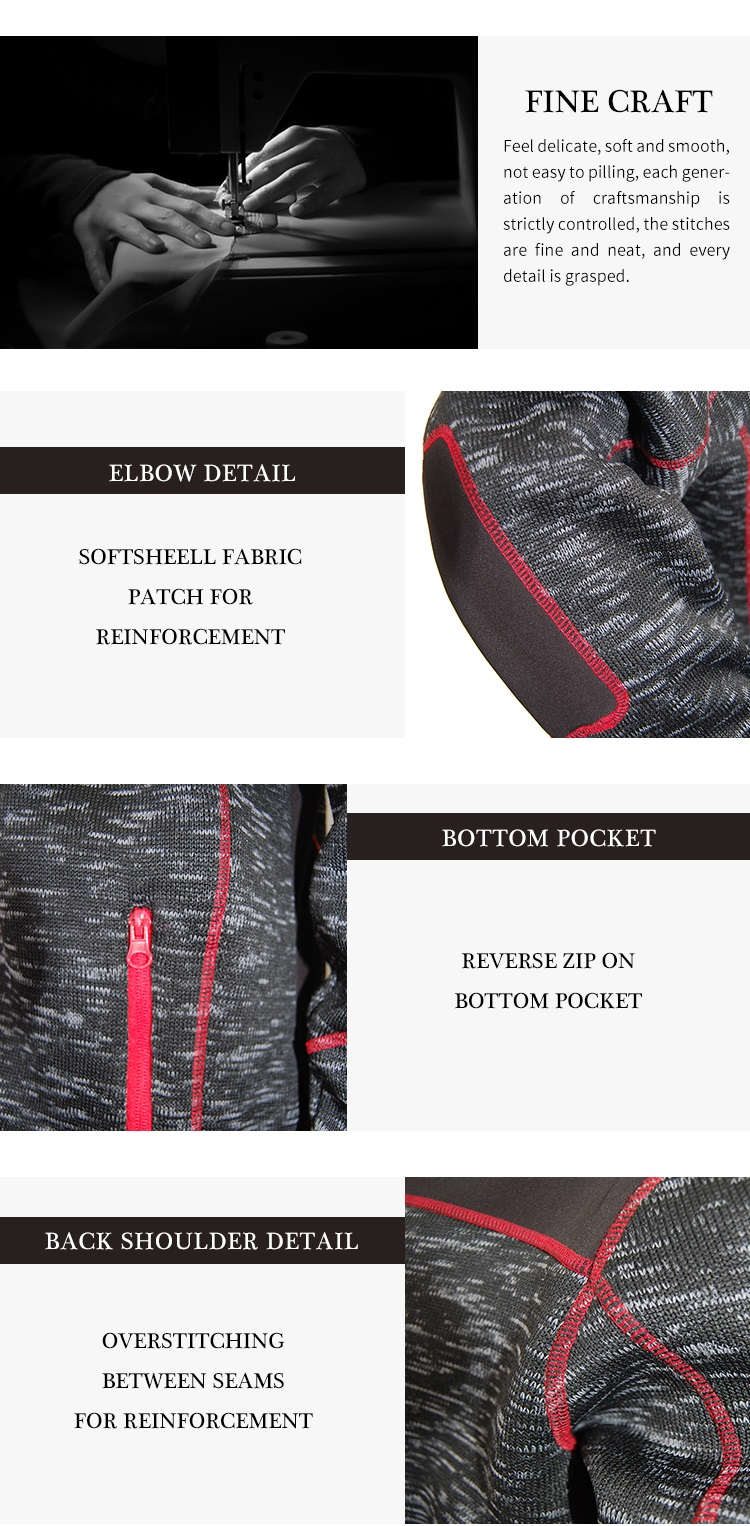 High quality 100% polyester knitted fleece jackets men