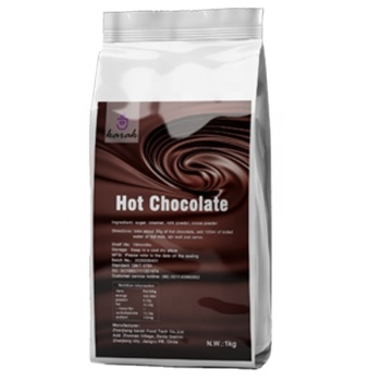 hot chocolate sachet