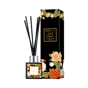 Colorina Pro-artist Best selling 50ml liquid Elegant style home fragrance reed diffuser with glass bottle