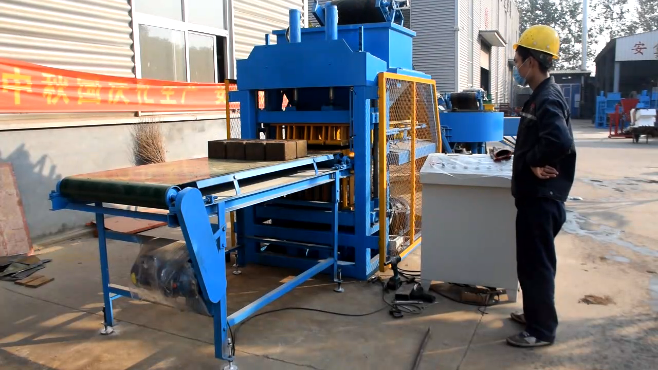 sy2-10 Fully Automatic Clay /Mud interlock Brick Making Machine Price In Mexico